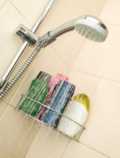This guide is about preventing slips and falls in a bathtub and shower. Anyone can be hurt by slipping while getting in or out of the bath.
