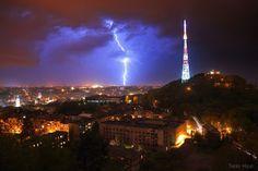 Lighting, Lviv, Ukraine