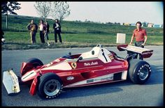Niki Lauda, Ferrari 312T2, 1976 - the year of his Nurburgring crash and near fatal injury...