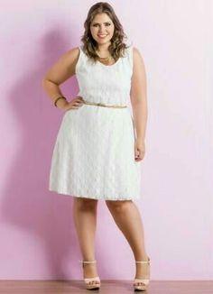 Vestidos Para Gorditas Con Encaje Vestidos Blancos Br16bed09