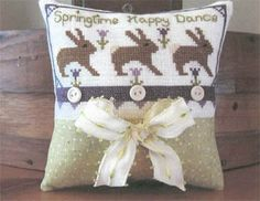 Springtime Happy Dance - Cross Stitch Pattern