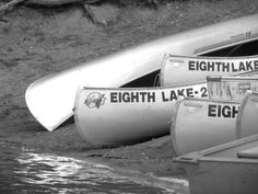 Boats at Eighth Lake Campground - NYSDEC Campgrounds