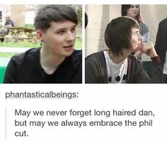 I JUST REALIZED THE ONLY REASON HE CUT HIS HAIR RLY SHORT IS BC OF PHIL OMG<<< yes he said in a live-show once