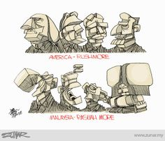 #rushmore #rasuah #malaysia #corruption