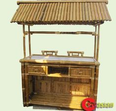 """Tiki Bars and Huts (Bamboo)-Bamboo Creasian / Custom built - DIY  or buy Bamboo Tiki bar(Huts) assembly -Prefab  Bamboo Huts (Gazebo) for Business and Residential,the bar is made from 100% bamboo ,beach bars, bar top accommodates ,bamboo-halves roof ,the bar, inside of the bar,bar accessories,2 chairs stoolw/back - Bamboo Bars included 2- back bamboo stools#29""""H,Bamboo Tiki Bar, waterproof bamboo tiki bar, outdoor bamboo tiki bar station,Building a bamboo tiki bar,Bamboo beach ..."""