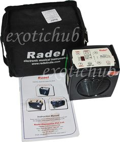 RADEL NANO ZX - Electronic Shruti Box (Sur-Peti)