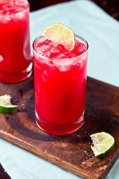 Fresh Plum Margarita