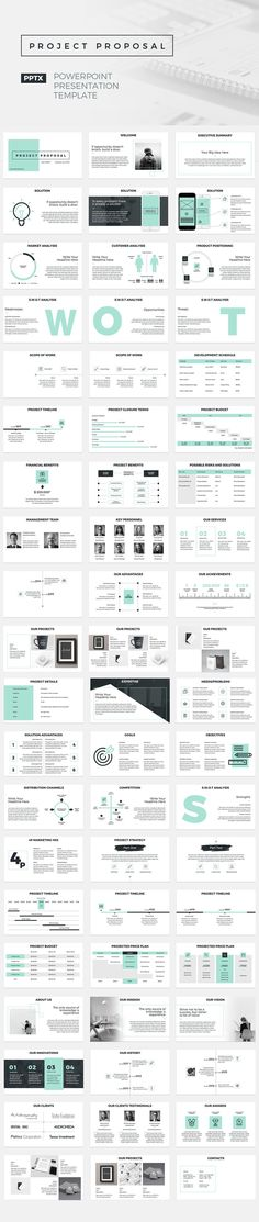 Project 2018 Powerpoint Presentation Template Powerpoint