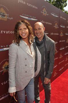 Steven Tyler, Dave Matthews spotted at John Varvatos Stuart House Benefit