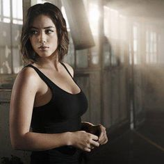 As if you needed a better reason to watch the season premiere of Agents of SHIELD... I give you #ChloeBennet making her debut as #Quake.  #Inhumans #AgentsOfSHIELD #SHIELD #PhilCoulson #AgentMay #FitzSimmons #Inhuman #AoS