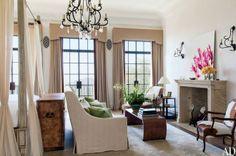 Tom Brady and Gisele Bundchen's House - beautiful neutrals