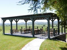 Robert Young Estate Winery || Beautiful new deck atop Scion Hill with views of the Alexander Valley #milestoneeventsgroup