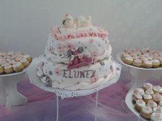 Torta Bienvenida y Baby shower
