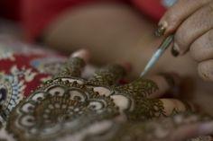 Bridal mehndi by @mehndidesigner