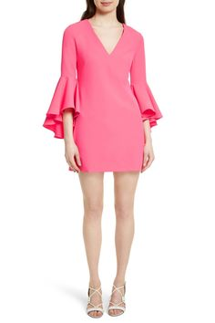Nicole Bell Sleeve Dress by MILLY on @nordstrom_rack