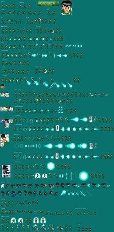 Sprite Database : Yusuke Urameshi