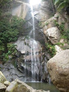 Waterfall in Yelapa (outside of Puerto Vallarta) http://www.yelapa.info/welcometov.html