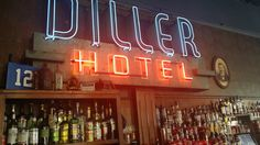 The Diller Hotel, one of our secret* bars in our list #speakeasy #drink #cocktails #seattle #bars #happyhour