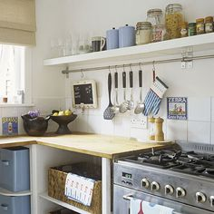 Keep your kitchen organized and clean top to bottom with these easy-to-follow tips.