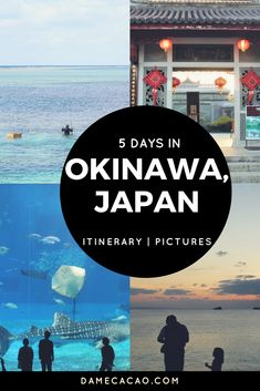 This is a road-tested Okinawa 5 day itinerary, full of beautiful pictures from Naha to American Village and Nago. Okinawa is a can't miss part of Japan! Okinawa Beach, Japan Beach, Okinawa Japan, Japan Trip, Japan Japan, Kyoto Japan, Japan Travel Guide, Asia Travel, Airline Travel