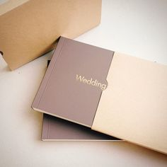 Фотоальбом в упаковке из крафт-бумаги