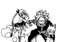I love happy, natsu and Lucy as a family they're just so great