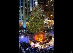Celebrating Christmas in New York, USA