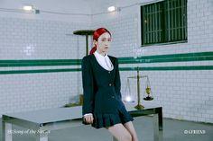 回:Song of the Sirens Concept Photo <Tilted 5> Gfriend Album, Sinb Gfriend, Gfriend Sowon, South Korean Girls, Korean Girl Groups, Multimedia, G Friend, Queen B, Sirens