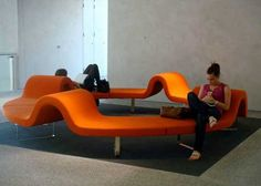 Segis   Highway, a modern modular public seating system designed by #Bartoli Design, a team comprised of Carlo, Paolo and Anna Bartoli. More info and technical details on: http://www.segis.it/en/products/Highway/