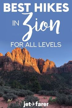 Zion National Park is one of the most breathtaking outdoor travel and hiking destinations in the United States. In this post, I've shared the best 15 hikes in Zion National Park to tackle, no matter how much hiking experience you have! Includes family-friendly hikes, accessible hikes, and challenging hikes for the seasoned outdoor traveler. #Hiking #NationalParks #Zion #Travel