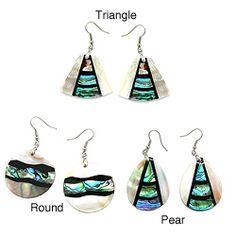 Shell dangle earring