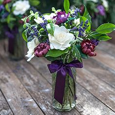 How to Mix Paper Flowers with Fresh Leaves and Lavender to Make a Gorgeous & Fragrant Bouquet