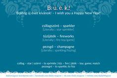 Boldog új évet kívánok! – I wish you a #HappyNewYear! [ˈboldoɡ ˈuːj ˈeːvɛt ˈkiːvaːnok] https://dailymagyar.wordpress.com/2015/12/30/buek/ #Búék