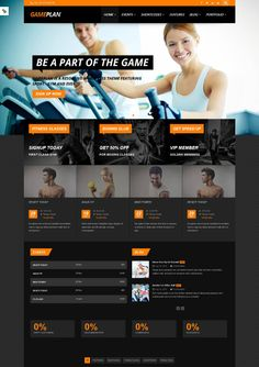 15 Best WordPress Fitness Themes 2013