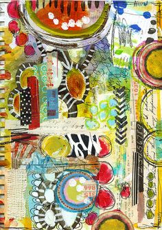 """""""Every Life Has a Story!"""" - {Roben-Marie Smith} - Art Journal Love - FANCYTHAT..."""
