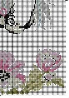 horse head with flowers Cross Stitch Rose, C2c, Horse Head, Filet Crochet, Cross Stitch Patterns, Carpet, Kids Rugs, Horses, Fictional Characters