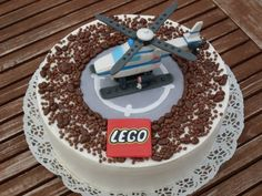 @Angela Baskins Ross What about this Lego Helicopter cake?