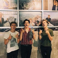 Imitating the vamps boys behind them😂 have I pinned this before? New Hope Club, A New Hope, Bae, Blake Richardson, Reece Bibby, Let's Get Married, Boys Like, Music People, The Vamps