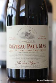 Chateau Paul Mas Clos des Mures 2011 - So Good They Built A Wall Around The Vineyard. http://www.reversewinesnob.com/2013/09/chateau-paul-mas-clos-des-mures.html