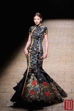 China-Fashion-Week-Spring -2015-Zhan-Zhifeng (13)