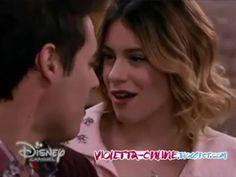 """Violetta 3 - Leon y Violetta cantan """"Nuestro camino"""" - Capítulo 48 #Leonetta It´s just a dream! :("""