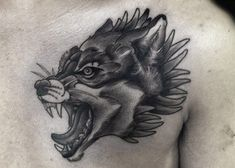 Before you get a wolf tattoo, you have to know about wolves itself. A wolf is a powerful and intelligent animal that lives in packs and can survive no Wolf And Moon Tattoo, Howling Wolf Tattoo, Tribal Wolf Tattoo, Wolf Tattoo Sleeve, Wolf Tattoo Design, Sleeve Tattoos, Tattoo Designs, Tattoo Ideas, Wolf Tattoos Men