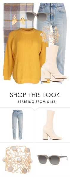 """""""Autumn sun"""" by arcticjasmine on Polyvore featuring Vetements, Yeezy by Kanye West, Atelier Mon, Bobbi Brown Cosmetics and Lulu Frost"""