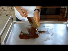 Chocolade canache van Cees Holtkamp - YouTube Homemade Chocolate, Cakes, Baking, Desserts, Recipes, Candy, Tailgate Desserts, Deserts, Cake Makers