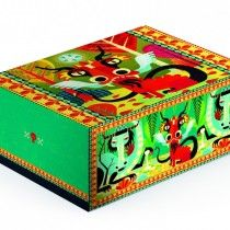 DJECO Fantasy Dragon Box - Finally a box for boys, really different and fantastic for storing all sorts of treasure in. Fantasy Dragon, Enchanted, Decorative Boxes, Adventure, Toys, Knights, Dragons, Gifts, Accessories