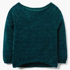 f4c61047d6c Girl Emerald Boatneck Chenille Sweater by Gymboree Gymboree