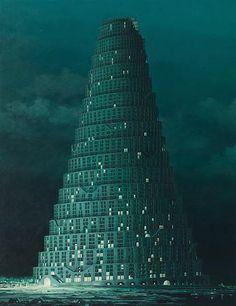 """Paintings / """"Skyglow-V17"""", 2008   Minoru Nomata"""