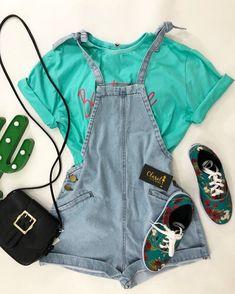 Fashion Wear, Cute Fashion, Look Fashion, Girl Fashion, Fashion Outfits, Womens Fashion, Teenager Outfits, College Outfits, Outfits For Teens