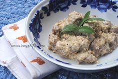 Gnocchi di Farina di Castagne con pesto alle noci