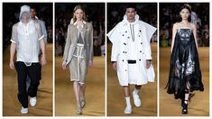 Burberry Ready to Wear – Spring 2020 - Glam News Magazine Burberry, News Magazines, Rugby, Corset, Givenchy, Dior, Ready To Wear, Kimono Top, Louis Vuitton